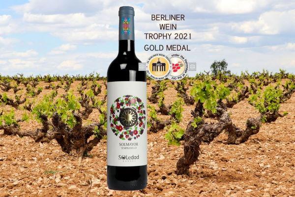 Solmayor Tempranillo 2020, entre los mejores vinos jóvenes del mundo